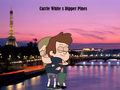 Dipper PinesxCarrieWhite- The City of Love - gravity-falls fan art