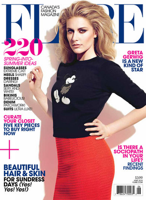 Greta Gerwig for Flare's June 2013