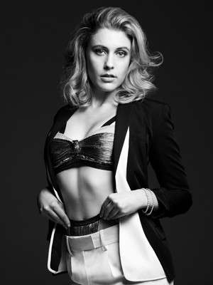 Greta Gerwig for InStyle April 2012