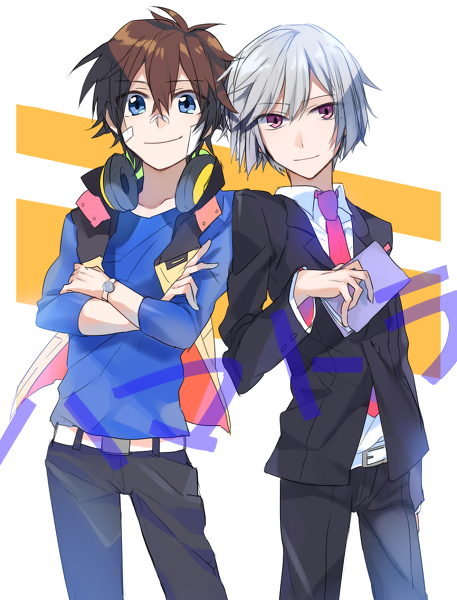nice and art hamatora fan art 36720144 fanpop
