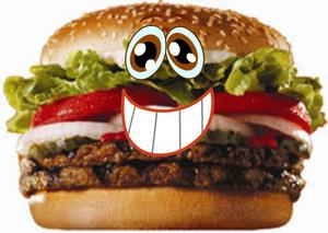 Hamburger Of Cuteness