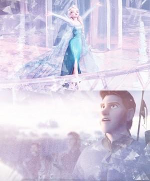 Nữ hoàng băng giá Hans and Elsa