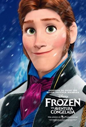 Frozen Hans Poster