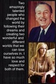 Walt Disney and JK Rowling
