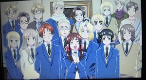 Gakuen hetalia - axis powers screenshot Farewell Sey
