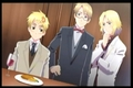 Gakuen hetalia - axis powers screenshot jantar