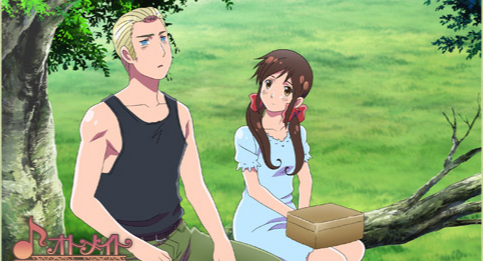 Hetalia kertas dinding possibly with tights and a leotard entitled Gakuen Hetalia screenshot