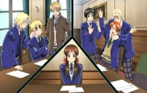 Gakuen hetalia - axis powers screenshot weird