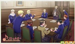 Gakuen Hetalia screenshot Meeting