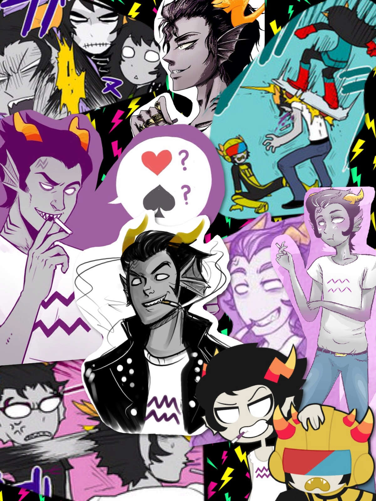 Cronus collage