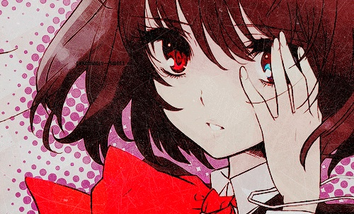 Horror Anime Manga Wallpaper With Anime Entitled Mei Misaki Another
