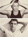 The Franco Brothers (photoshoot) - hottest-actors fan art