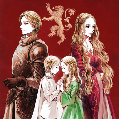 House Lannister wolpeyper called Jaime and Cersei Lannister