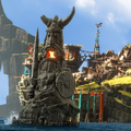 Island of Berk - how-to-train-your-dragon photo