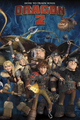 How To Train Your Dragon 2 2015 Calendar Cover