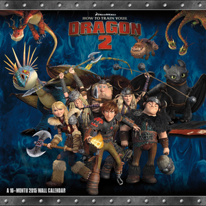 How To Train Your Dragon 2 2015 Calendar HD Cover