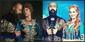 Sultan Suleyman and Haseki Hurrem Sultan