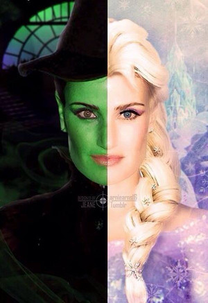 Elphaba and Elsa