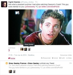 OMG!!! Drew Seeley Has Favorited My Tweet AGAIN!!!