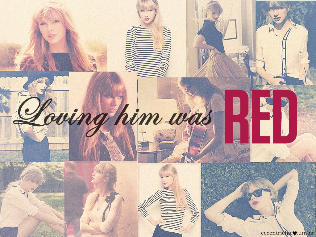 Loving Him Was Red❤