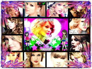 Taylor veloce, swift collage