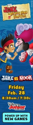 Jake vs. Hook - jake-and-the-never-land-pirates Photo