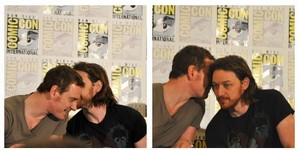 Michael and James - Comic Con 2013
