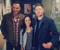 Katherine Ramdeen and J2 - jared-padalecki photo
