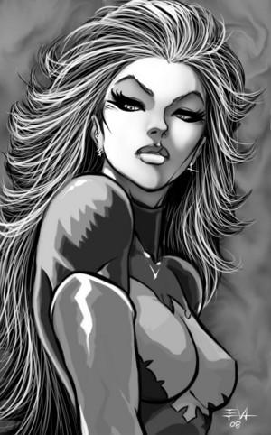 Evil Phoenix Jean Grey fanart