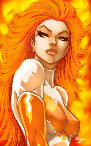 Jean Grey Phoenix fanart