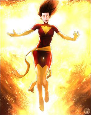 Jean Grey / Dark Phoenix fanart