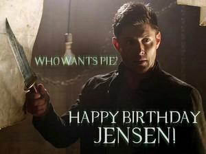 Happy 36th Birthday Jensen!