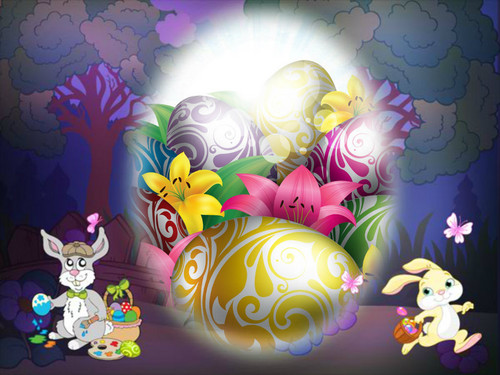 Happy Easter All My fan wallpaper probably containing a red cabbage called Jessowey's Fave Easter Picks