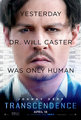 Johnny on Transcendence 2014 poster