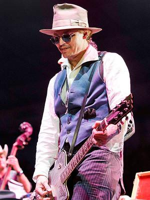 Johnny Depp in Austin - 9 March 2014