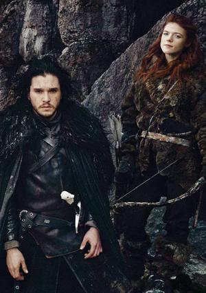 Jon Snow and Ygritte (Season 4)