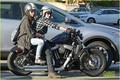 Josh Hutcherson and Claudia Traisac around town (February 23) in Los Angeles