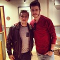 Josh with fan at Chipotle - josh-hutcherson photo