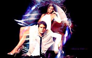 Joshua Jackson & Katie Holmes
