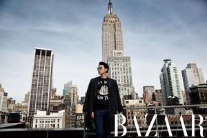 Rain for 'Harper's Bazaar'
