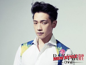 Rain for 'Harper's Bazaar'
