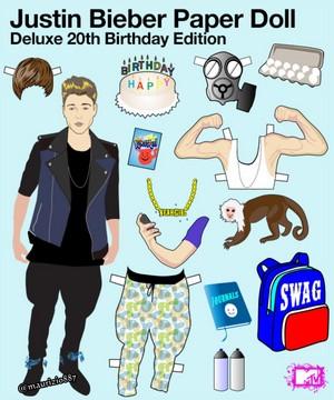justin bieber Happy 20th birthday ,