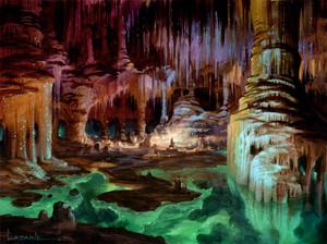The Glittering Caves por Paul Lasaine