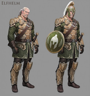 Elfhelm fan art