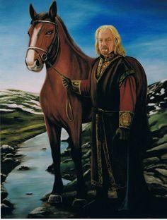King Theoden द्वारा Estela Boal
