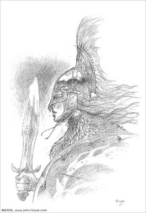 Eowyn by John Howe