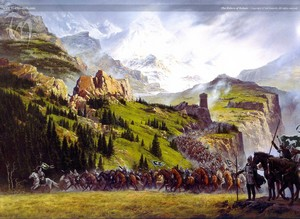 The riders of Rohan 由 Ted Nasmith