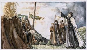 The Oath of Cirion and Eorl 由 Anke Eissmann