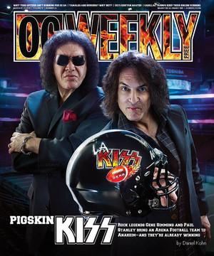 Gene and Paul ~LA kiss Arena football
