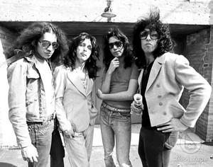 kiss ~Creem fotografia shoot 1974